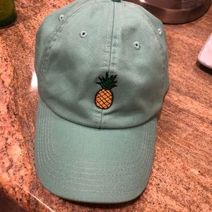 GUC Teal pineapple dad cap